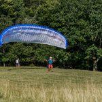Glider start's to rise